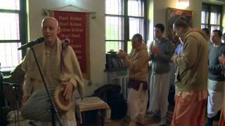 2014.05.15. Kirtan after Guru Puja HG Sankarshan Das Adhikari, Kaunas Lithuania