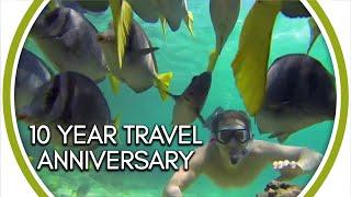 10 year travel anniversary