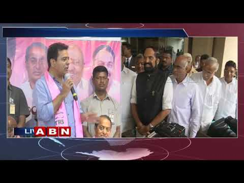 TRS Leader KTR Full Speech | TRS Joinings Meet | Telangana Bhavan | ABN Telugu