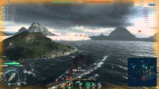 World of Warships tier 6 Japanese Cruiser - Aoba
