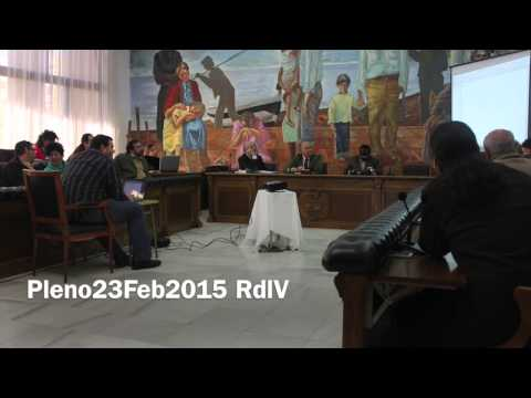 Pleno23Feb2015 RdlV Renuncia Concejal Empleo CasoEduCosta