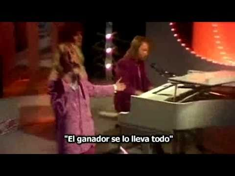 ABBA - The Winner Takes It All - Subtitulado Subtítulos Español