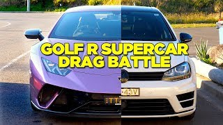 Racing A Lamborghini (In My Golf)