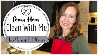 Clean With Me | Power Hour | Cleaning Motivation 2018| SAHM