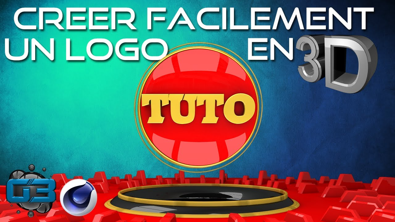 Tuto cr er son logo facilement en 3d youtube - Creer son dressing en 3d ...