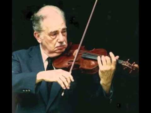 Oscar Shumsky plays Dinicu's Hora Staccato