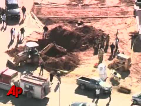 Raw Video: 2 Workers Killed in Collapse