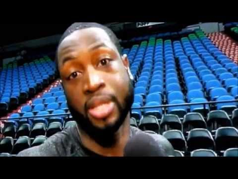 Dwyane Wade and Chris Bosh Joke on Lebron James Hairline