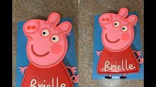 Peppa Pig Cake tutorial | Demonstration | (tagalog)
