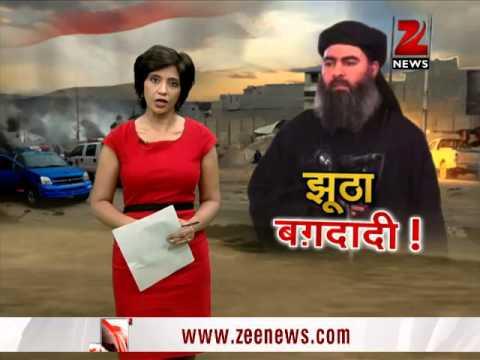 Abu Bakr al-Baghdadi video fake, says Iraq govt
