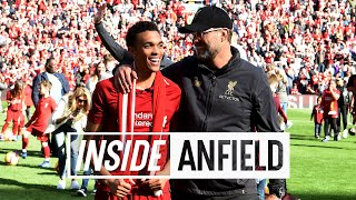 Inside Anfield: Liverpool 2-0 Wolves   Amazing post-match scenes following season-finale