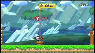 """New Super Mario Bros U"" Time Attack Trial (Gold 20.57)"