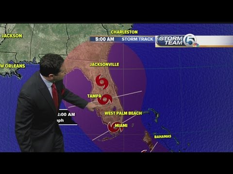 Tropical Storm Erika's track changes, now forecast not to become hurricane