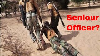MUTINY: NIGERIAN SOLDIERS OPEN FIRE ,THREATEN SENIOR OFFICER