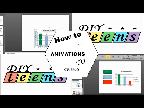 How to add animations to graphs – PowerPoint 2010