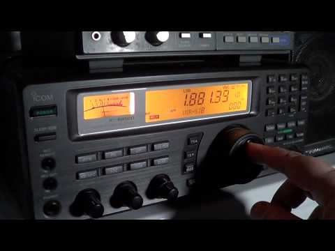 160 meters amateur radio band scan 0130 UT
