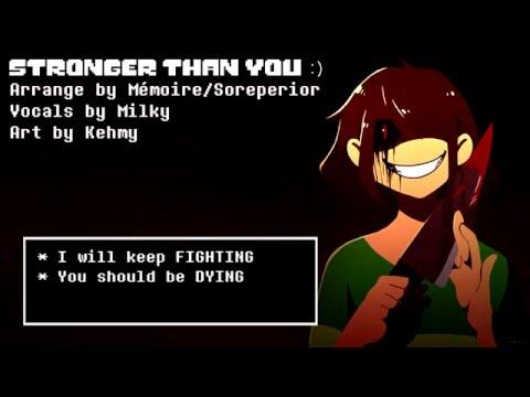 Stronger than You -Chara Response-「Undertale Parody」