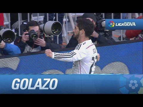 Golazo con rosca de Isco (1-0) Real Madrid - Deportivo de la Coruña