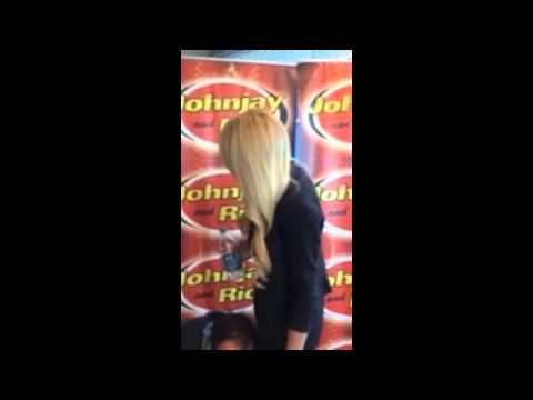 Gena Lee Nolin in Studio with Johnjay and Rich