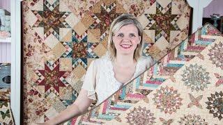Color Daze Antique Ribbon Border Table Runner Pattern - Fat Quarter Shop