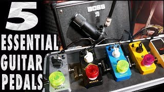 5 Essential Types Of Guitars Pedals You Must Have!