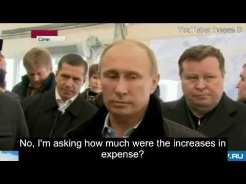 Putin handles corruption LIKE A BOSS