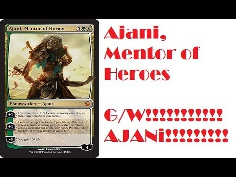 Mentor of Heroes Deck Ajani Mentor of Heroes