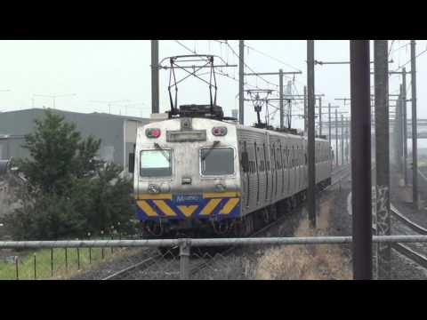 Hitachi trains around Melbourne - Metro Trains