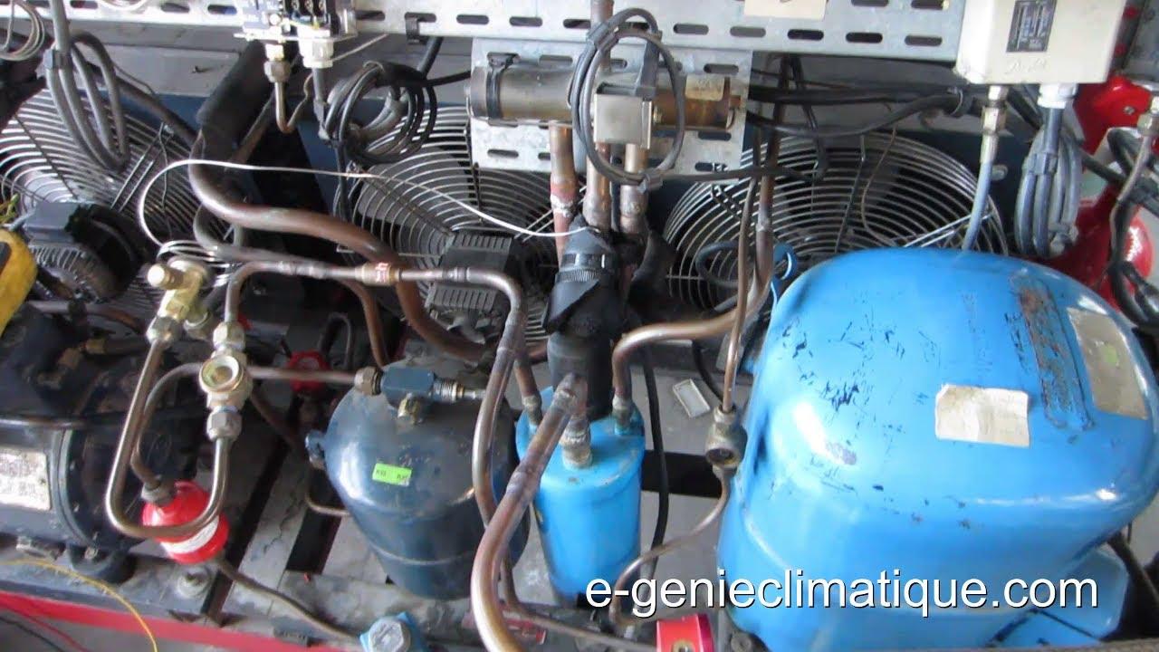 Froid76 d givrage par inversion de cycle chambre froide n gative observation et fonctionnement - Compresseur chambre froide positive ...