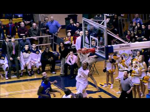 Kent State Michael Porrini Dunk vs Buffalo 2-24-11