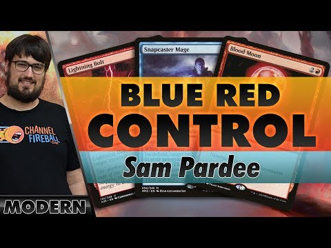 Blue-Red Control - Modern   Channel Pardee Time