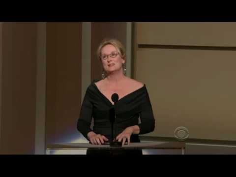 [HD] Meryl Streep Salutes Robert De Niro @ Kennedy Center Honors 2009
