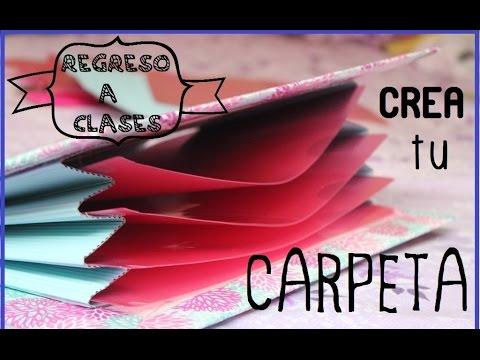 CREA TU CARPETA FACIL ♥ #RegresoAClases
