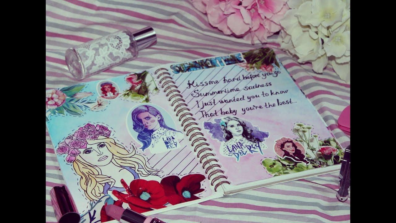 Как оформить личный дневник своими руками для девочек 47