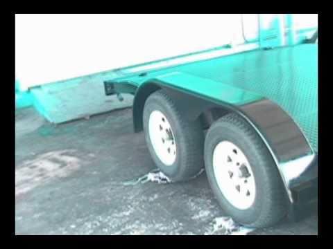 Sandblasting Clearwater Sandblasting Largo - IndustrialBlast.com - Painted Trailer