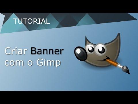 Criar Banner para Youtube no Gimp thumbnail