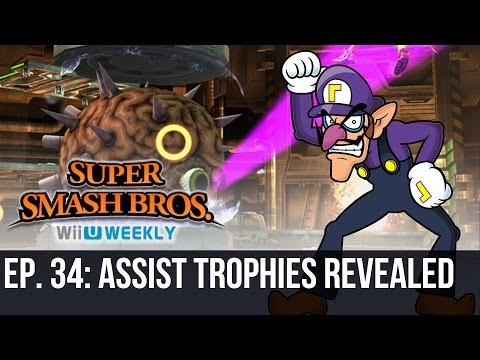 Super Smash Bros. Wii U/3DS Weekly - Assist Trophies Revealed