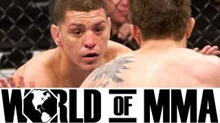 What Does Nick Diaz Say To His Opponnents During Fights