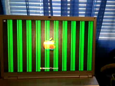 Pc Laptop Monitor Error Vivid Vertical Green Lines Help