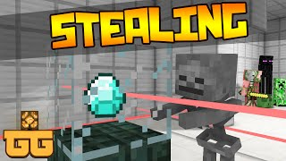 Monster School - STEALING [Minecraft Animation]