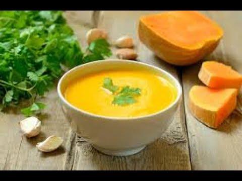 Тыквенный суп-пюре с секретным ингредиентом Пошаговый рецепт Видео рецепт