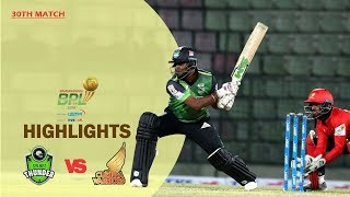 Sylhet Thunder vs Cumilla Warriors Highlights | 30th Match | Season 7 | Bangabandhu BPL 2019-20