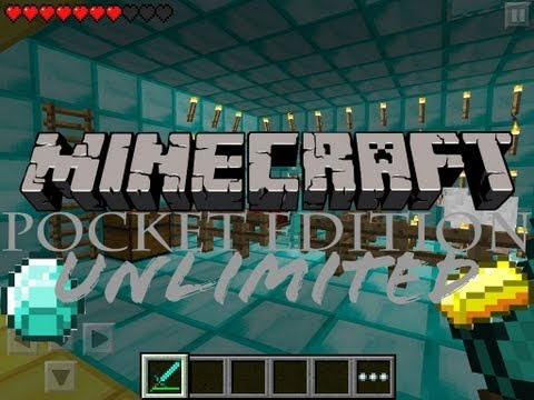 How to get UNLIMITED Diamonds/GOLD/IRON in MINECRAFT PE