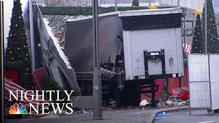 ISIS Claims Responsibility For Berlin Christmas Market Attack | NBC Nightly News