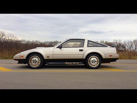 1984 Datsun 300 ZX Turbo 50 Anniversary Nissan RETRO DRIVE REVIEW #ClassicCarWeek 2015