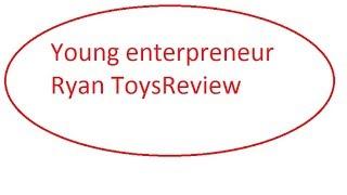 Young enterpreneur Ryan ToysReview