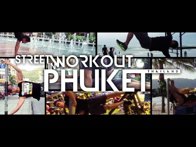 Street Workout in Phuket with Chazynash