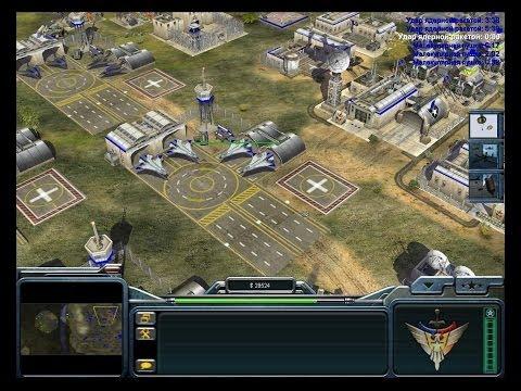Command & Conquer Generals - прохождение США - Hardcore =7= Конец войне..