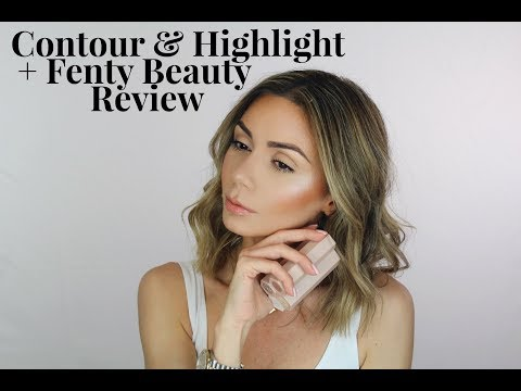 Contour & Highlight + Fenty Beauty Review  MakeUpbyLilit