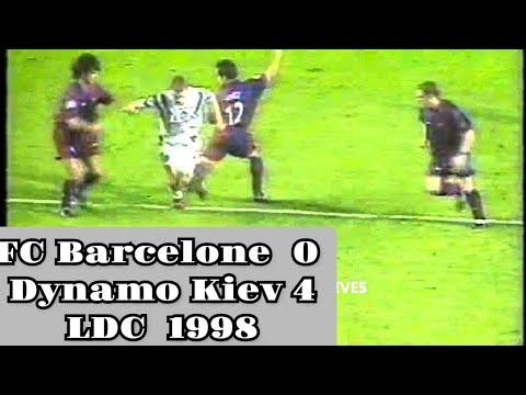 Fc Barcelone 0 - Dynamo Kiev 4 (LDC 1998)